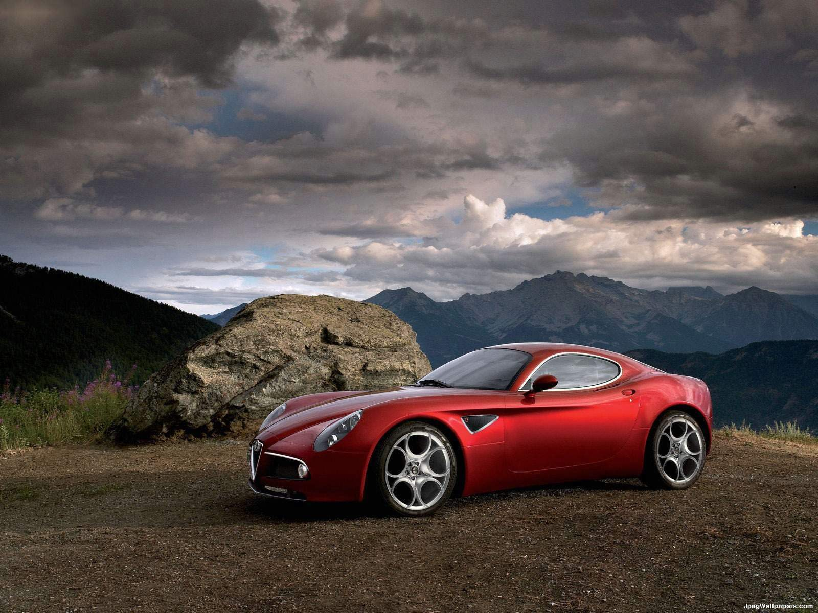 Download wallpaper Alfa Romeo 6  Cars