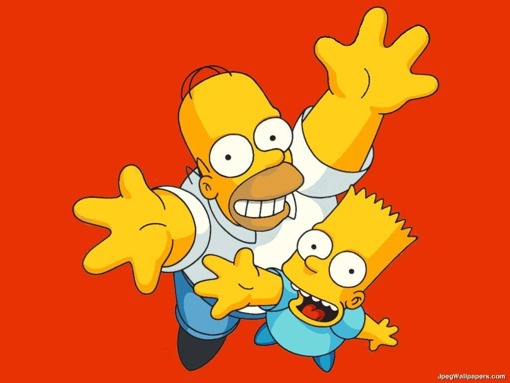 Bart and homer simpsons wallpaper - Homer simpson and bart simpson ...