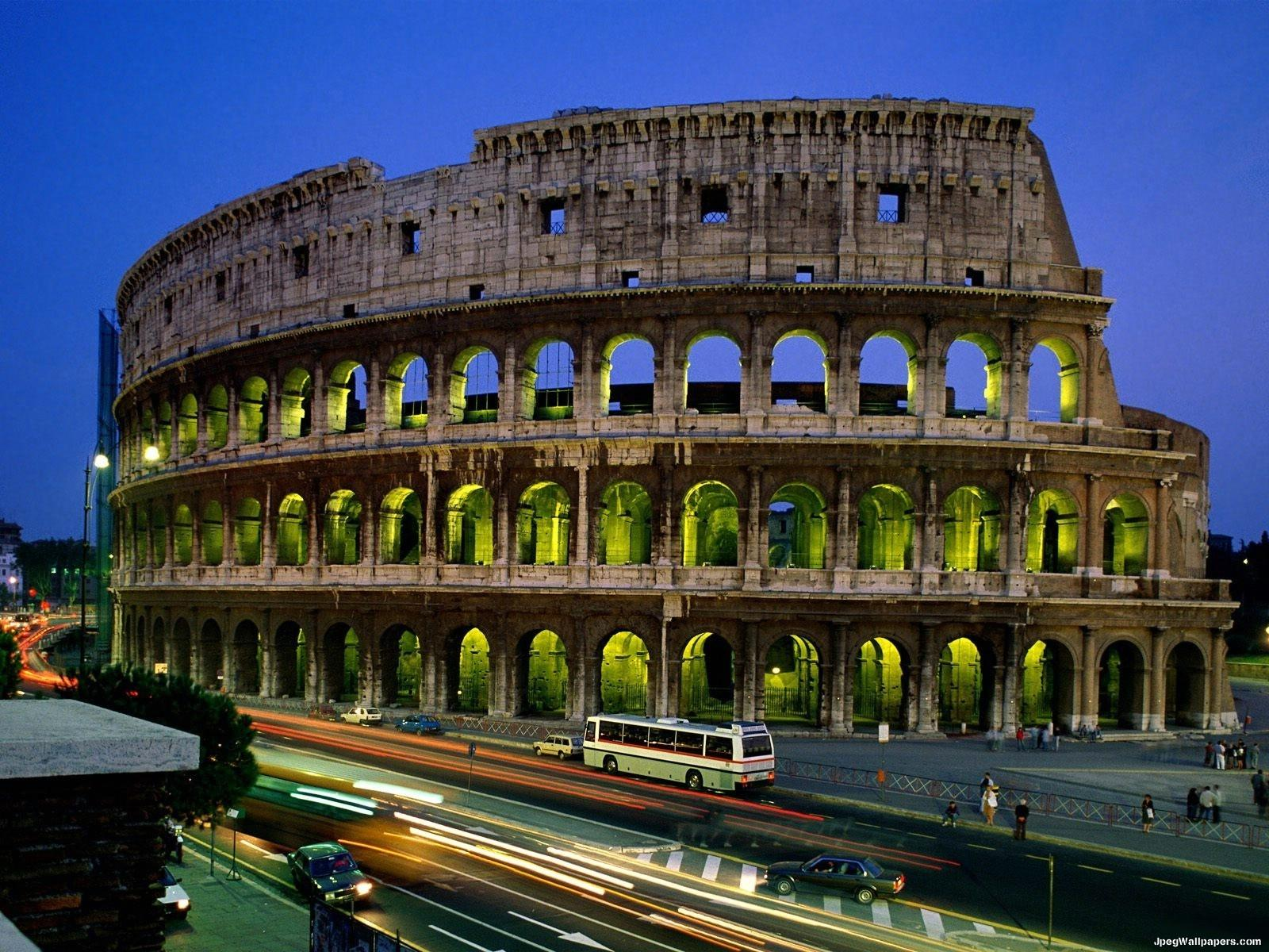 Colosseo roma italia wallpaper for Wallpaper italia