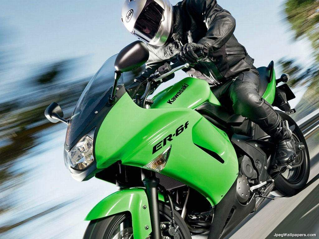 Download Motorcycles Wallpaper   Kawasaki ER 6f