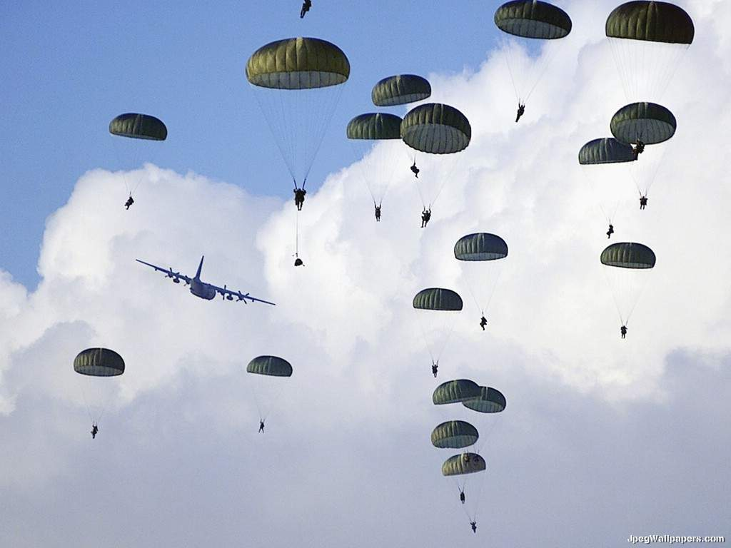 Paratroopers 3 wallpaper