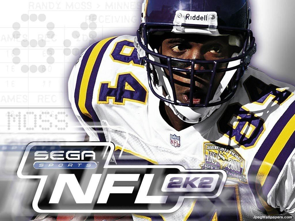Randy Moss NFL Football