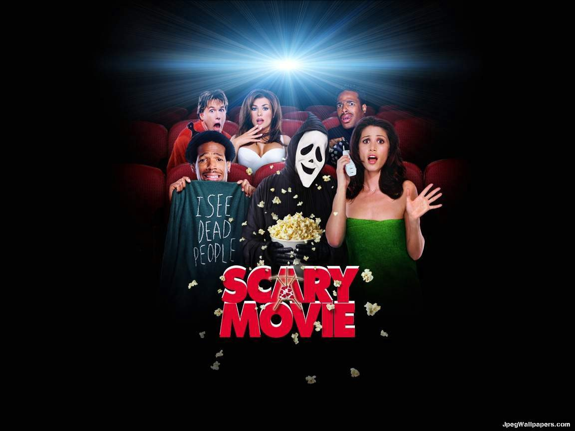 Download Movies wallpaper, 'Scary Movie'.