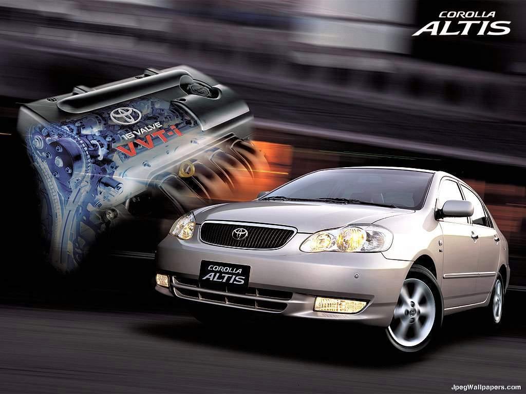 Cars Toyota Corolla Altis