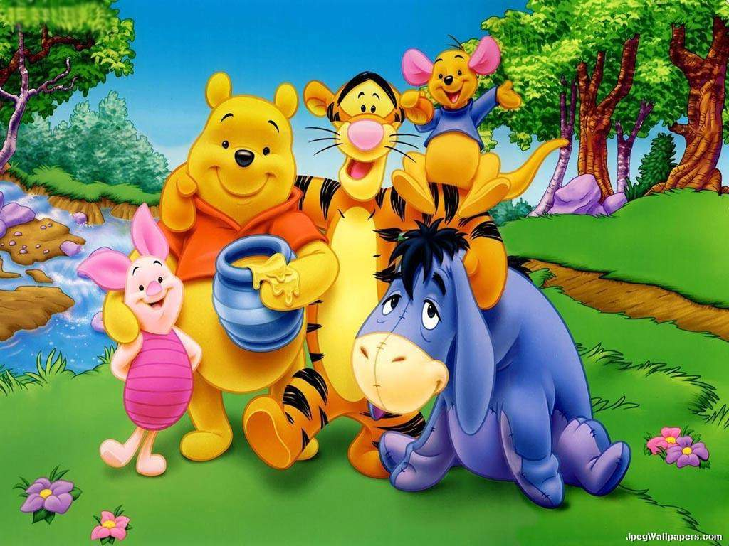 Download Cartoons wallpaper, 'Winnie the Pooh 2'.