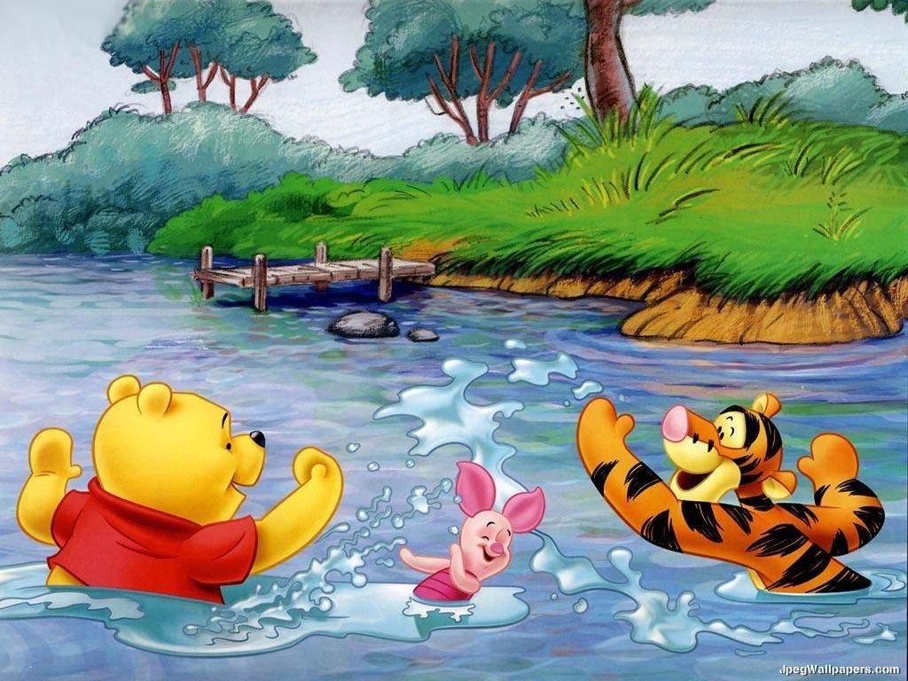 Download cartoons wallpaper, 'winnie the pooh 3'