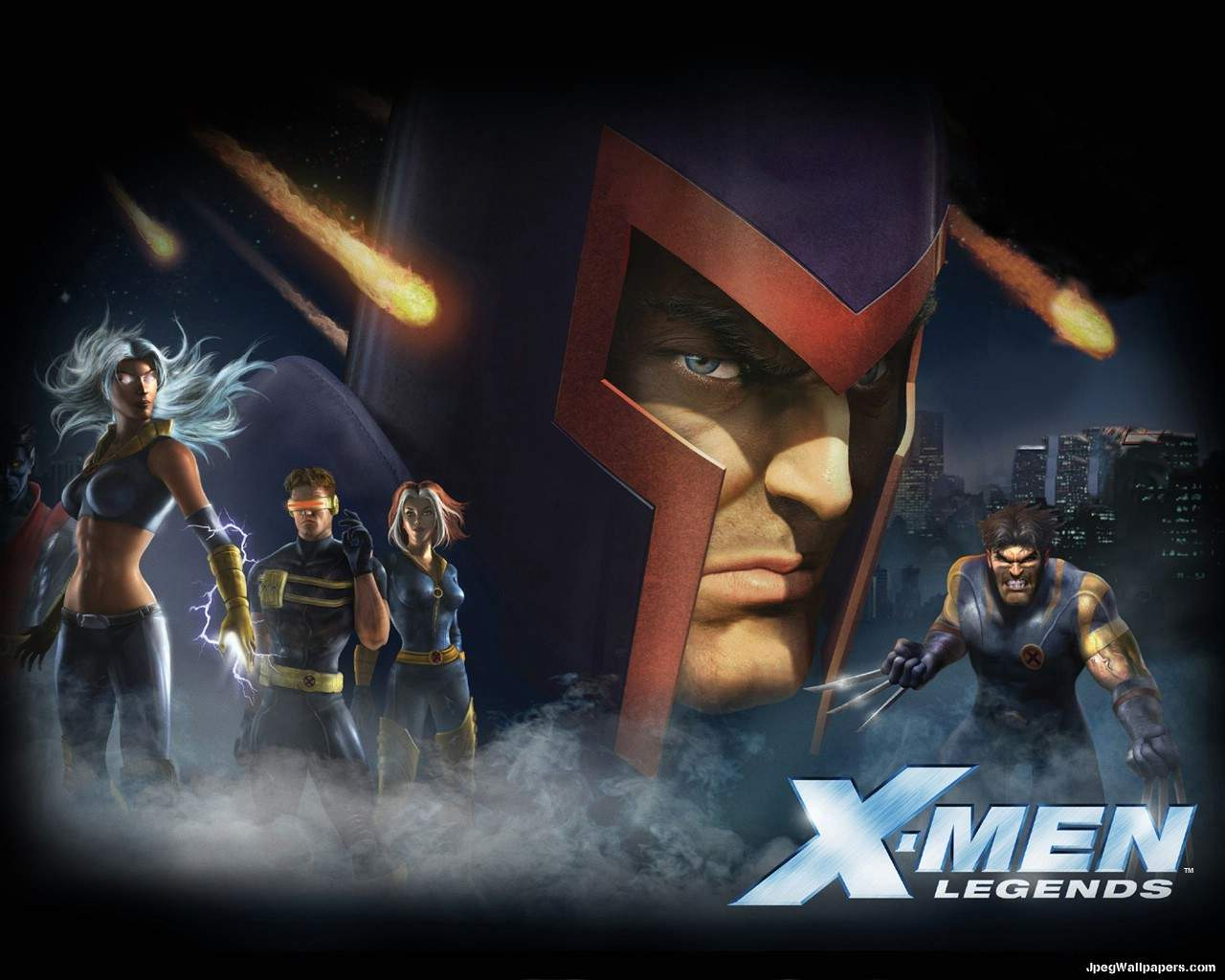 Download Games wallpaper   X Men Legends  X Men Logo Wallpaper